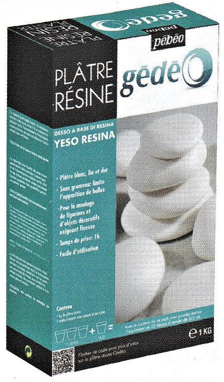 1 kg Gedeo Resin Plaster