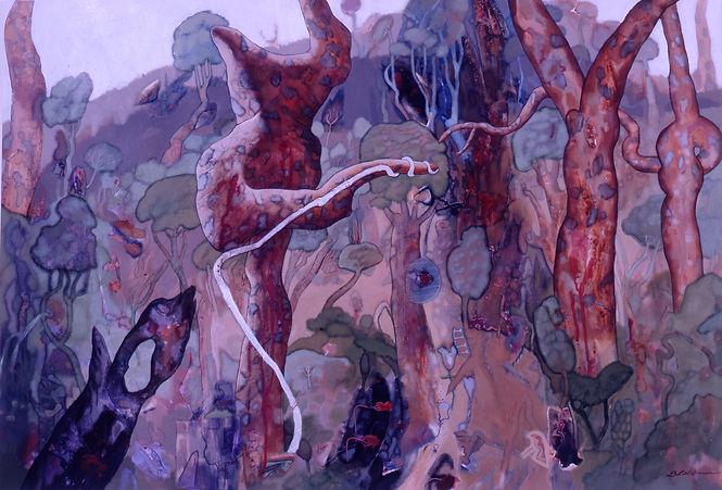 Debra Liel-Brown, 'Dancing Angophoras' -