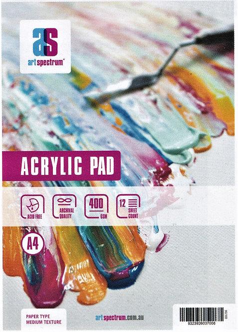 400 GSM Art Spectrum Acrylic Painting Pads