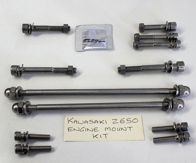 Z650 Engine Mount Bolt Kit