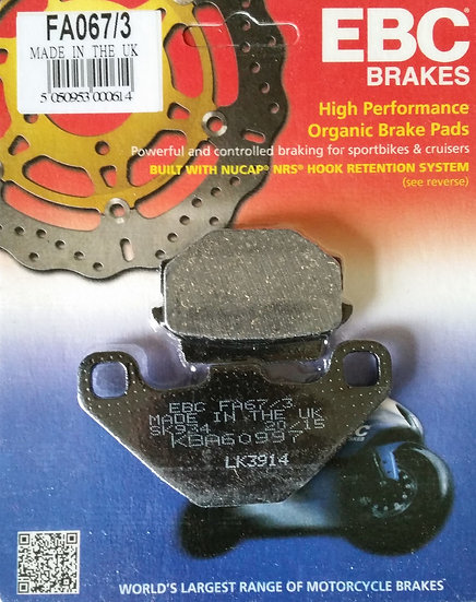 Brake Pads EBC FA067