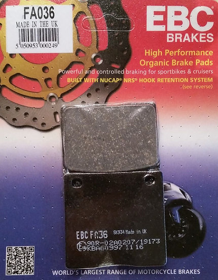 Rear Brake Pads EBC FA036