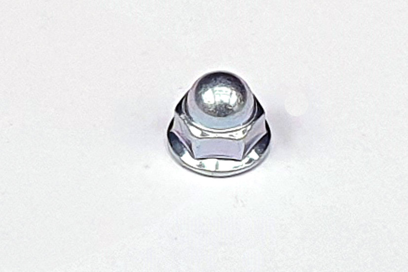M6 Plain Flanged Dome Cap Nut 10mm A/F JIS
