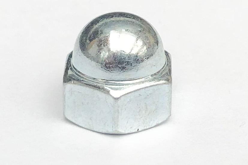 M6 Dome Nut Low Top Zinc10mm Spanner A/F JIS