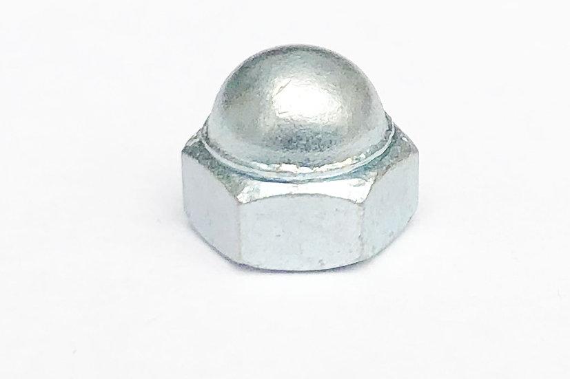 M5 Dome Nut Low Top Zinc 8mm Spanner A/F JIS