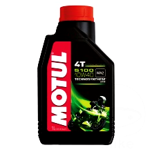 MOTUL ENGINE OIL 10W40 4-STROKE 1L SEMI-SYNTHETIC