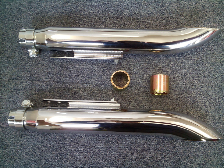 Silencers 35-45mm sold as a pair