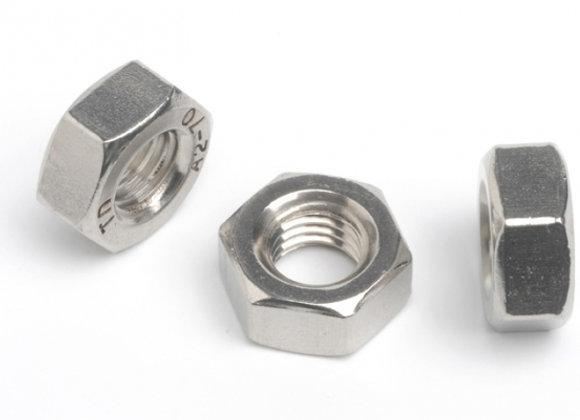 Stainless Steel Full Hex Nuts Fine Pitch (each)