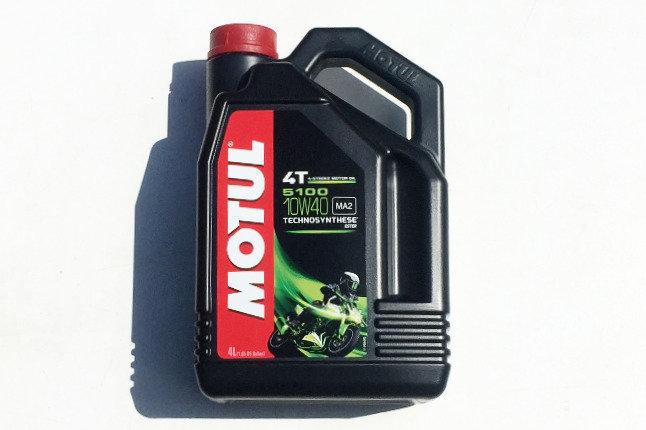 MOTUL ENGINE OIL 10W40 4-STROKE 4L 5100 SEMI-SYNTH