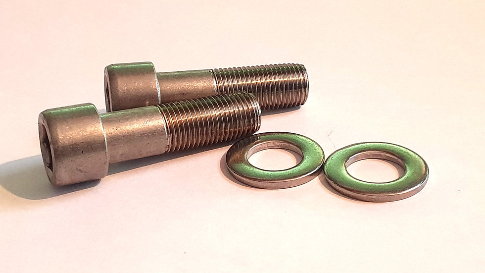 92003-064 Stainless Steel Lower Fork Pinch Bolts (2)
