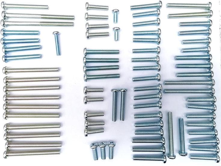 Honda CB750 SOHC Engine Screw Kit - J.I.S Zinc Plated Screws