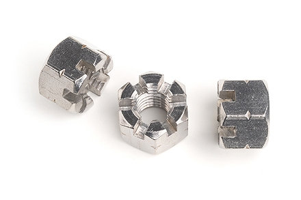 M8 Stainless Steel Castle Nuts Each Standard Coarse Pitch