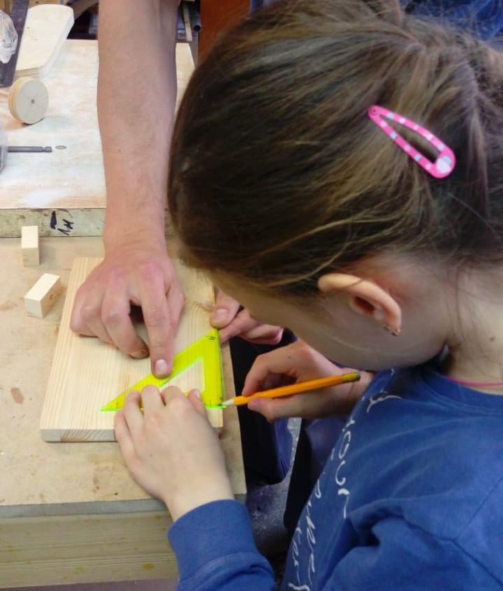 Столярный мастер-класс для детей