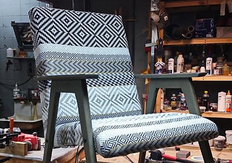Из 60-х в 2018! Преображение старого кресла