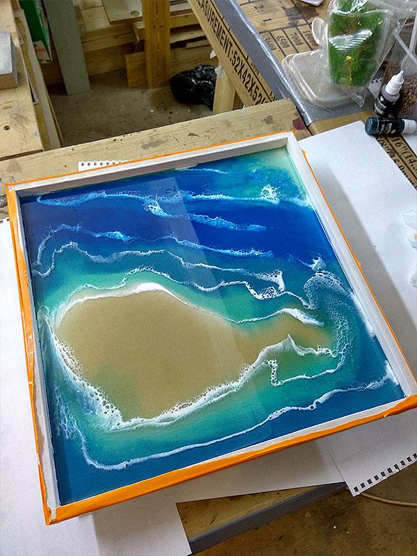 Эксперименты с морем