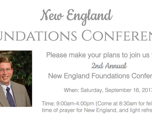 New England Foundations Conference