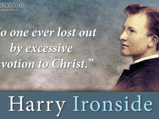 Quote of the Day: Harry Ironside