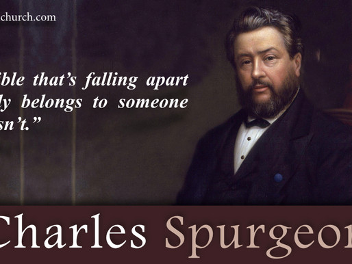 Quote of the Day: C.H. Spurgeon
