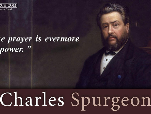 Quote of the Day: Charles Spurgeon