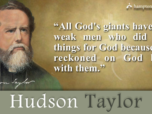 Quote of the Day: Hudson Taylor
