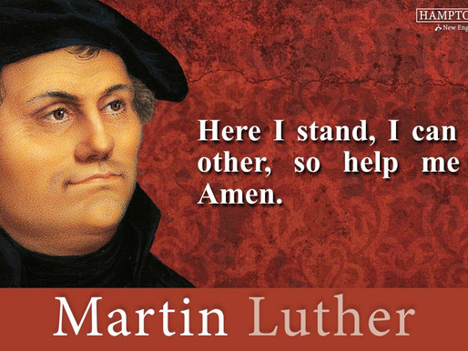 Quote of the Day: Martin Luther