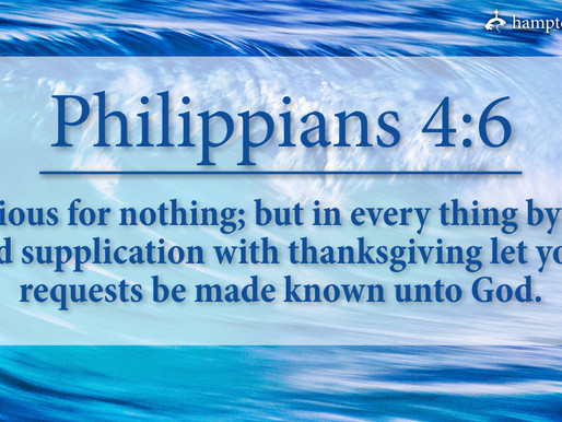 Verse of the Day: Philippians 4:6