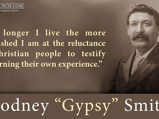 """Quote of the Day: Rodney """"Gypsy"""" Smith"""