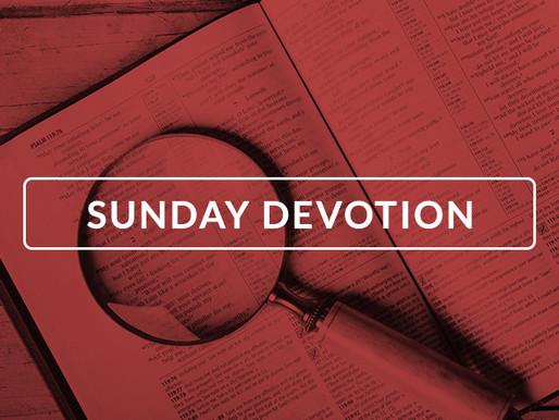 Daily Devotion: Sunday