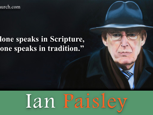 Quote of the Day: Ian Paisley