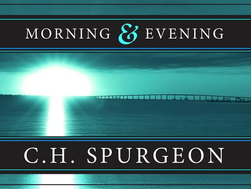 02/22/17 Evening Devotional by C.H. Spurgeon