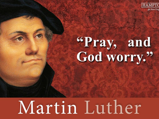 Quote of the Day: Matin Luther
