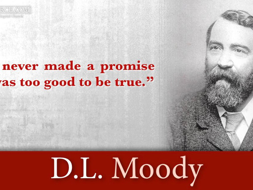 Quote of the Day: D.L. Moody