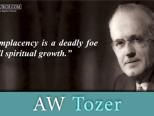 Quote of the Day: AW Tozer