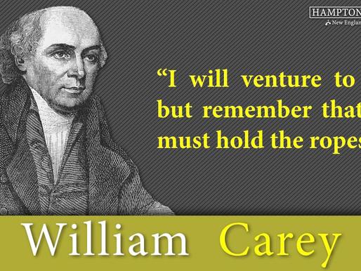 Quote of the Day: William Carey