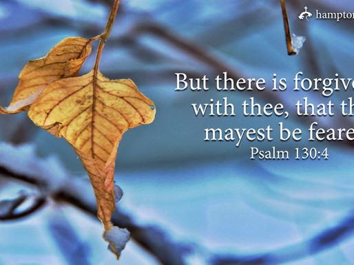 Verse of the Day: Psalm 130:4