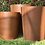 Thumbnail: CORTEN TAPERED CYLINDERS