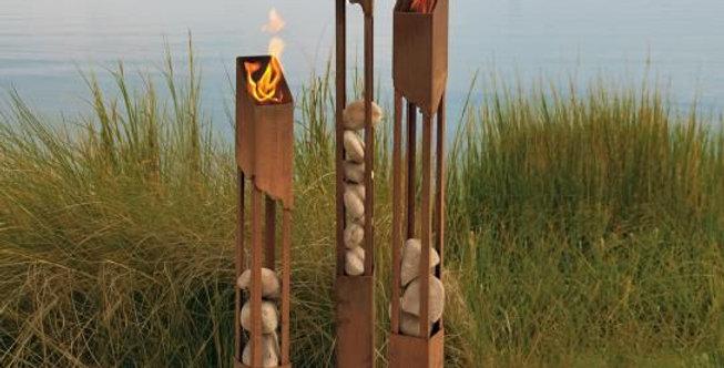 Corten Torches