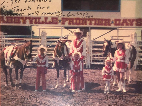 The Abbyville Rodeo, Then & Now
