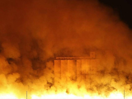 Kansas Wildfires, for better or worse