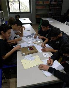 תלמידי חטיבת הנעורים בקבוצות למידה
