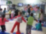 חוג תנועה בגני הילדים