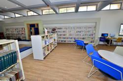 מרחב הלמידה בספריית חטיבת הנעורים