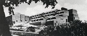 בניין תיכון ליאו באק מיד לאחר הקמתו