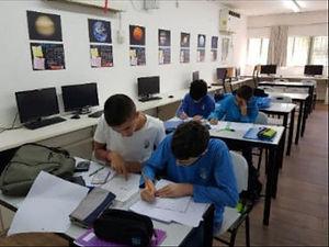 תלמידי המחוננים בקבוצות למידה