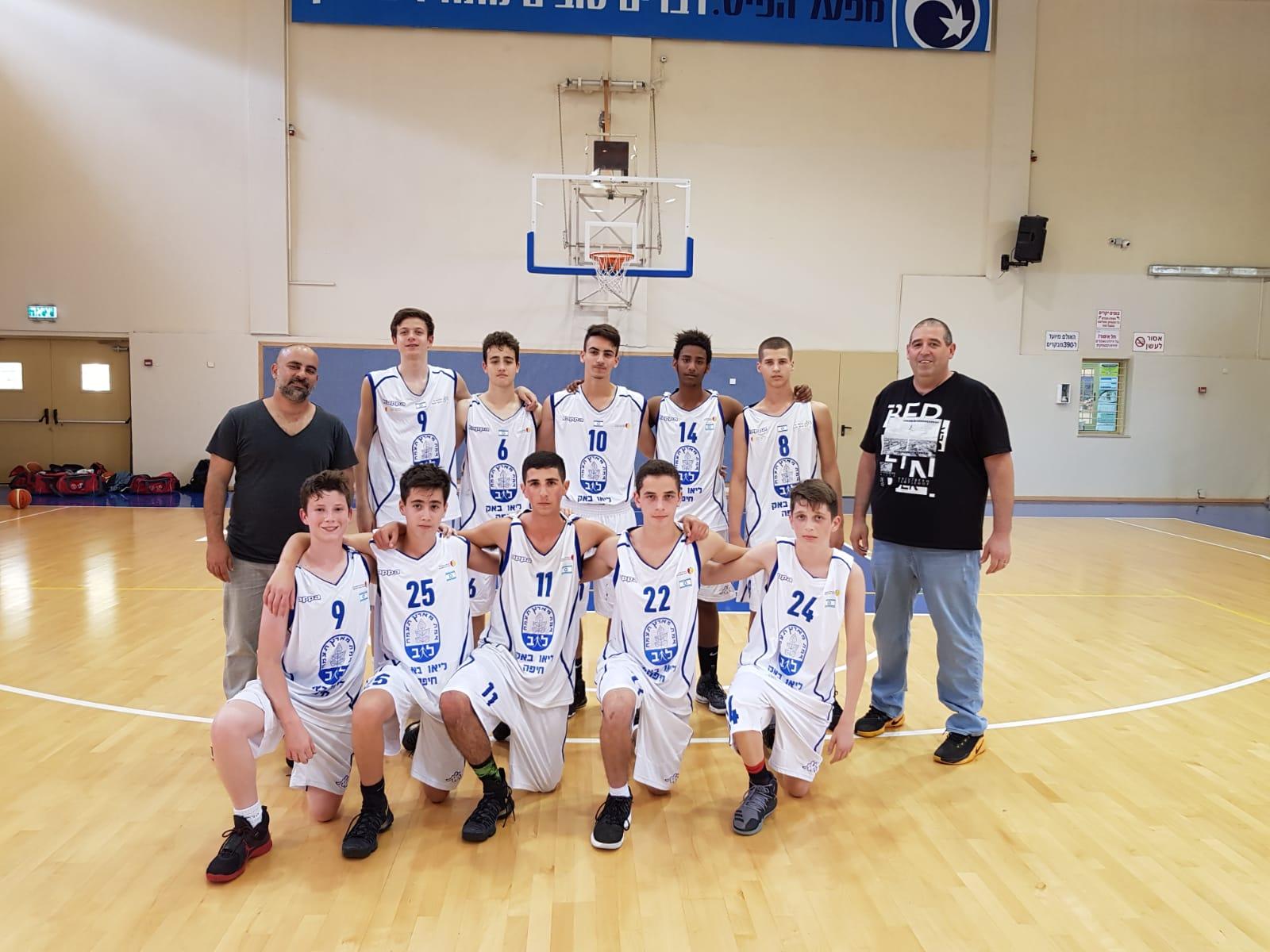 קבוצת הכדורסל של חטיבת הנעורים