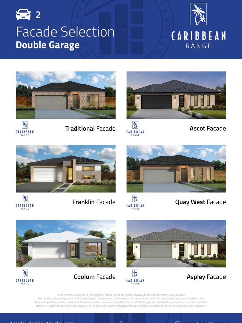 Facades Double Garage