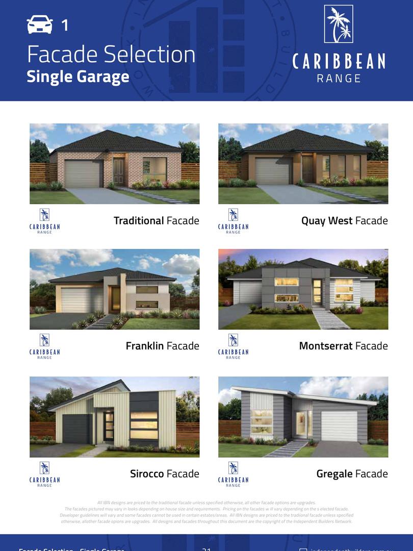 Facades Single Garage
