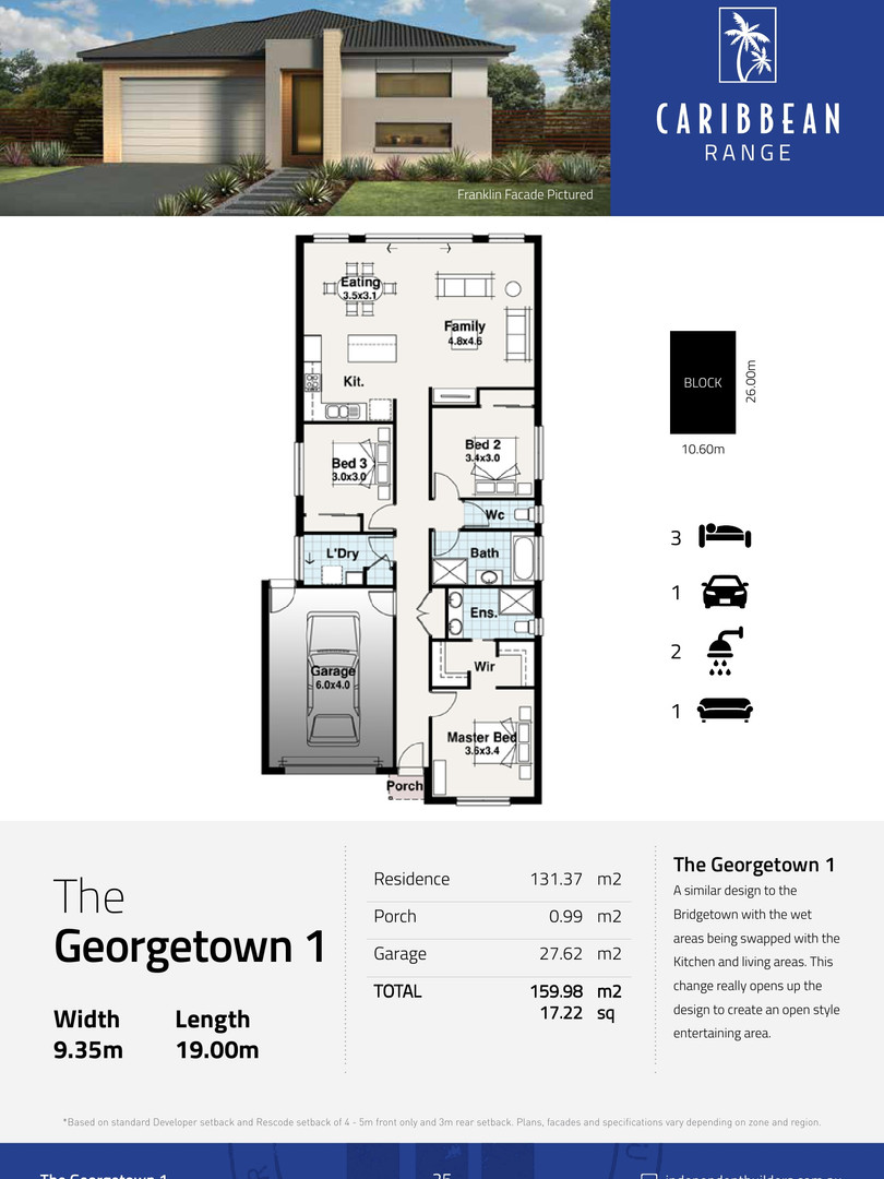 The Georgetown 1