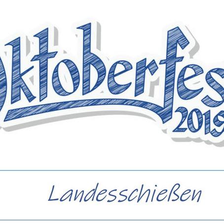 Oktoberfest Landesschießen 2019