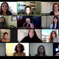 We organize, execute, and attend a virtual Research Experience for Undergraduates together!